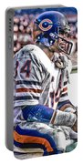 Walter Payton Chicago Bears Art 2 Portable Battery Charger