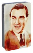 Walter Pidgeon, Vintage Movie Star Portable Battery Charger