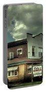 Walt's Diner - Vintage Postcard Portable Battery Charger