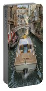 Wandering The Beautiful Venice Canals Portable Battery Charger