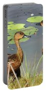 Wandering Whistling Ducks Portable Battery Charger