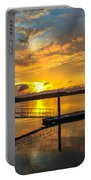 Wando River August Sunset Portable Battery Charger