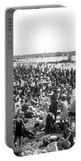 Wannsee Beach In Berlin Portable Battery Charger