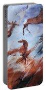 Wapiti- Petroglyph Portable Battery Charger