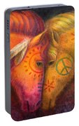 War Horse And Peace Horse Portable Battery Charger