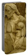 War Mother By Charles Umlauf Portable Battery Charger