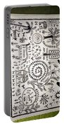 Warli Tribal Painting  Portable Battery Charger