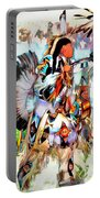 Warrior Dance Portable Battery Charger