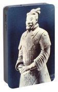 Warrior Of The Terracotta Army Portable Battery Charger