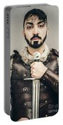 Warrior With Sword Portable Battery Charger