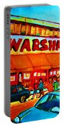 Warshaws Fruitstore On Main Street Portable Battery Charger