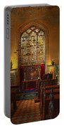 Warwick Castle Chapel Portable Battery Charger by Chris Lord