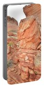 Wash 3 Of Valley Of Fire Portable Battery Charger