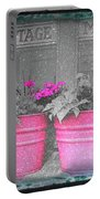 Wash Tub Planters Portable Battery Charger