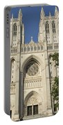 Washington National Cathedral Front Exterior Portable Battery Charger