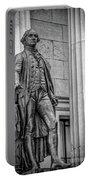 Washington Statue - Federal Hall #3 Portable Battery Charger