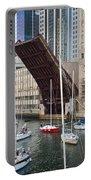 Washington Street Bridge Lift Chicago Portable Battery Charger