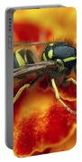 Wasp In The Bloom Portable Battery Charger