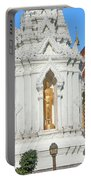Wat Chamthewi Monk Memorial Chedi Dthlu0090 Portable Battery Charger