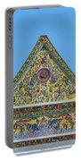 Wat Ratcha Orasaram Phra Wihan Gable Dthb0862 Portable Battery Charger
