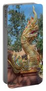 Wat Suan Prig Phra Wihan Makara And Naga Guardian Dthcm2395 Portable Battery Charger
