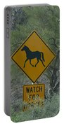 Watch For Horses Portable Battery Charger