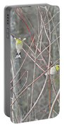 Watch Me One Bird In Flight Portable Battery Charger