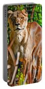 Watchful Lioness Portable Battery Charger