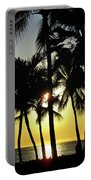 Watching The Hawaiian Sunset  Portable Battery Charger