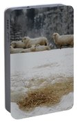 Watching The Herd Portable Battery Charger