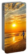Watching The Sunset Portable Battery Charger