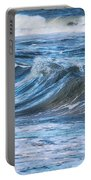Watching The Waves Portable Battery Charger