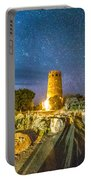 Watchtower Over The Grand Canyon   Arizona Portable Battery Charger