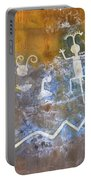Watchtower Rock Art  Portable Battery Charger