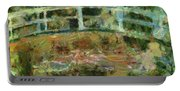 Waterlily Pond Portable Battery Charger