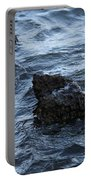 Water And A Rock Portable Battery Charger