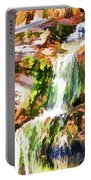 Water Cascading Portable Battery Charger