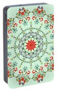 Water Color Garden Kaleidoscope Portable Battery Charger
