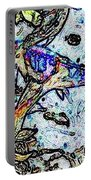 Water Color Koi Portable Battery Charger