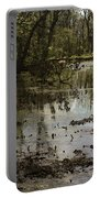 Water Garden Lake View Portable Battery Charger