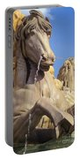 Water Horse Sculpture Portable Battery Charger