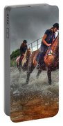 Water Horses Portable Battery Charger