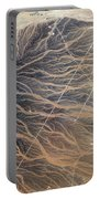 Water Imprints In Desert, Oman Portable Battery Charger