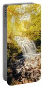 Water In Fall Portable Battery Charger