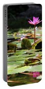 Water Lilies Tam Coc  Portable Battery Charger