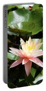 Water Lilly With Dragonfly Portable Battery Charger