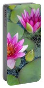 Water Lily #2 Portable Battery Charger