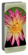 Water Lily Keyhole Portable Battery Charger