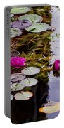 Water Lily Near Rijksmuseum Museum Portable Battery Charger
