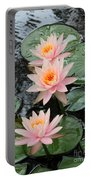 Water Lily Trio Portable Battery Charger